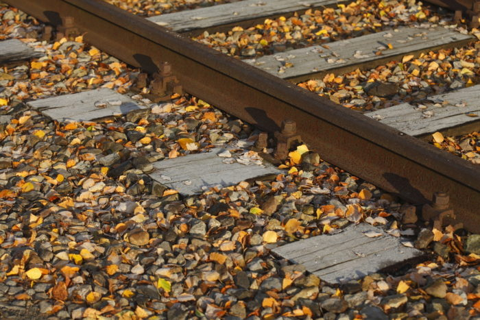 Man killed crossing train tracks