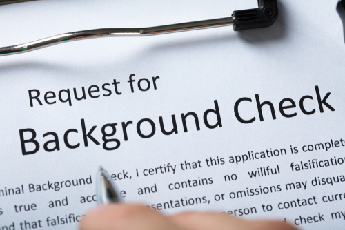Employment Background Checks and criminal record