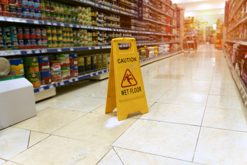 What to Do If You Slip and Fall in a Grocery Store